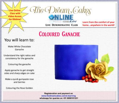 Coloured Ganache