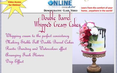 Double Barrel Whipped Cream Cakes