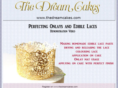 Onlays and Edible Laces