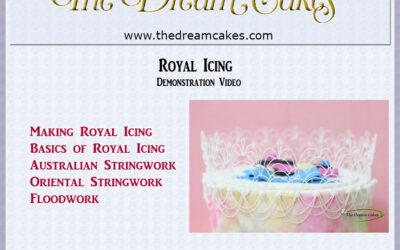 Royal Icing Basics and Stringwork