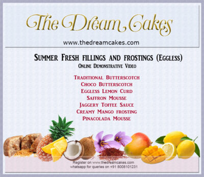 Summer Fresh Fillings and Frostings