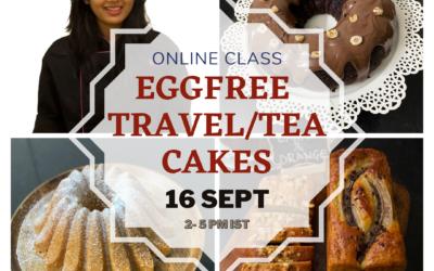 Eggfree Modern Travel Cakes – Jignya Thakkar