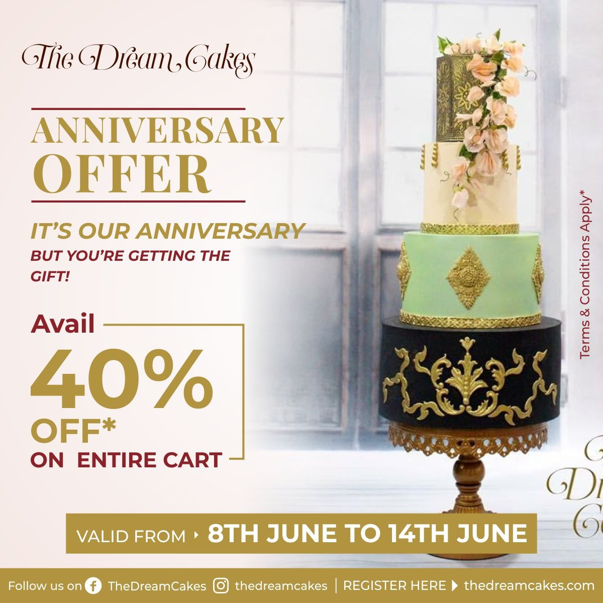 15th Anniversary Offer